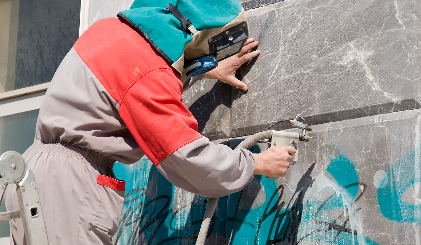 Removing graffiti quickly is critical, and if when you need it, we have professional Vandalism and Graffiti Cleanup Service.