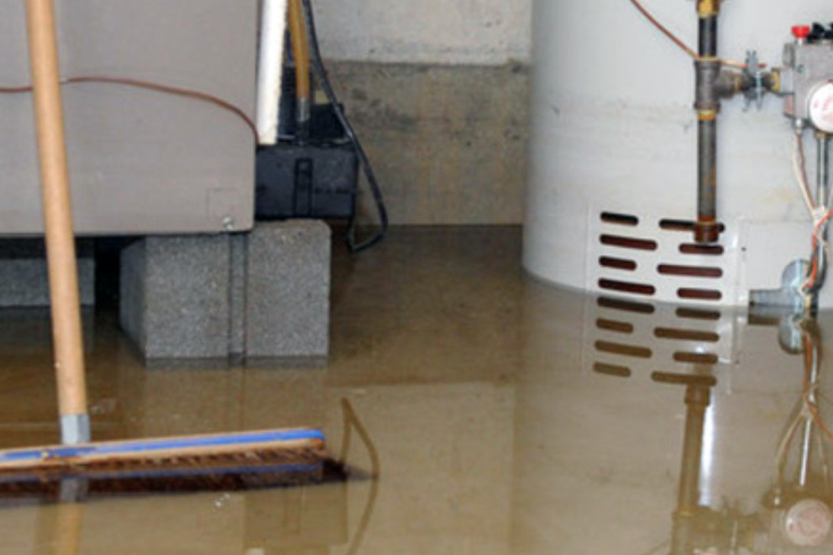 Flooded Basement Restoration and Cleanup
